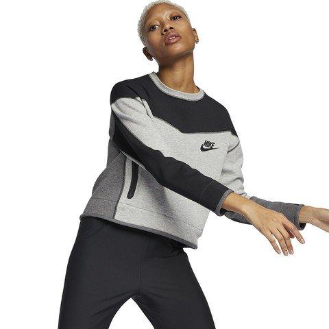 Nike Sportswear Tech Fleece Crew CB Kadın Sweatshirt