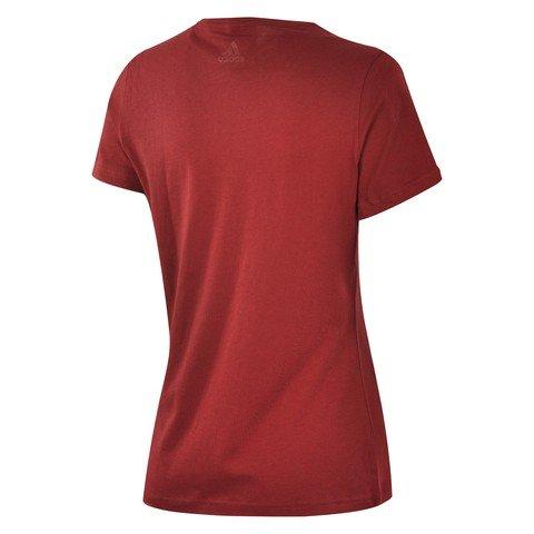 adidas Foil Linear Tee Nobmar Fw18 Kadın Tişört