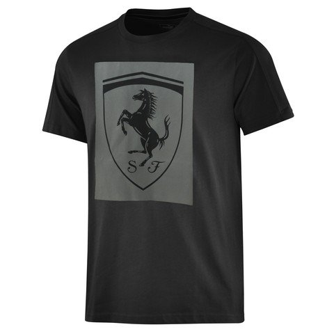 Puma Ferrari Big Shield Erkek Tişört