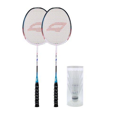 Voit Pro-504 3 Top 2 Raket Badminton Set