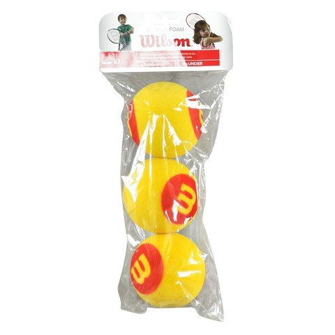 Wilson 258900 Starter Foam Itf Logolu 3'Lü Tenis Topu