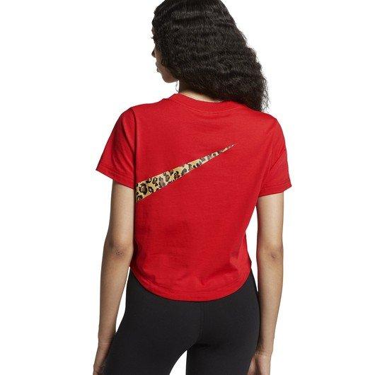 Nike Sportswear Animal Cropped Top SS19 Kadın Tişört