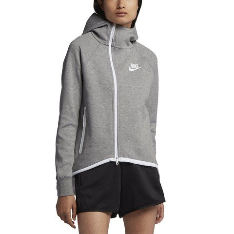 Nike Sportswear Tech Fleece Full Zip Cape SS19 Kapüşonlu Kadın Ceket