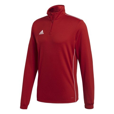 adidas Core 18 Training Top Half-Zip Long-Sleeve Erkek Tişört