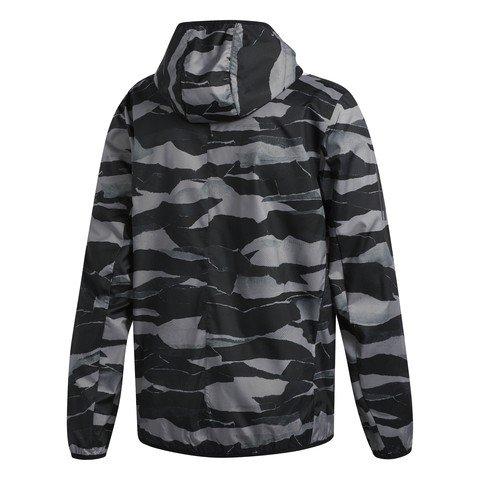 adidas Own the Run Graphic Wind Kapüşonlu Erkek Ceket