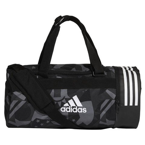 adidas 3-Stripes Convertible Graphic Duffel Small Spor Çanta