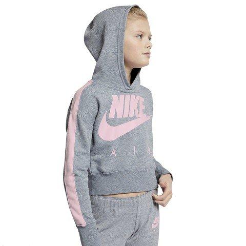 Nike Sportswear Crop PE Air Hoodie Kapüşonlu Çocuk Sweatshirt