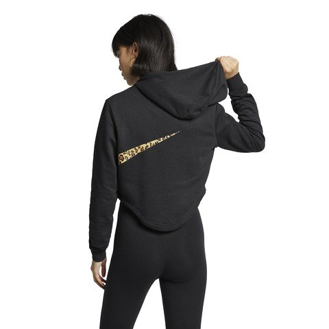 Nike Sportswear Cropped Animal Hoodie Kapüşonlu Kadın Sweatshirt