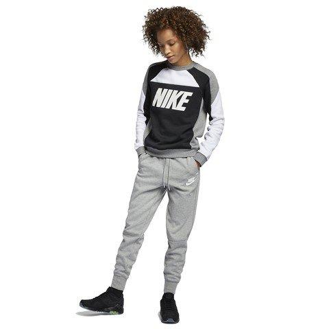 Nike Sportswear Color Block Crew Fleece SS19 Kadın Sweatshirt