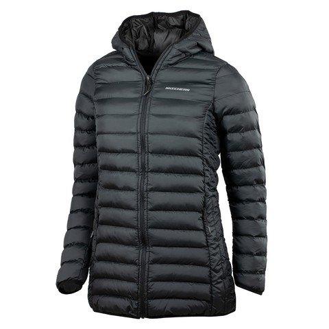 Skechers Filled Full-Zip Hoodie Kapüşonlu Kadın Ceket
