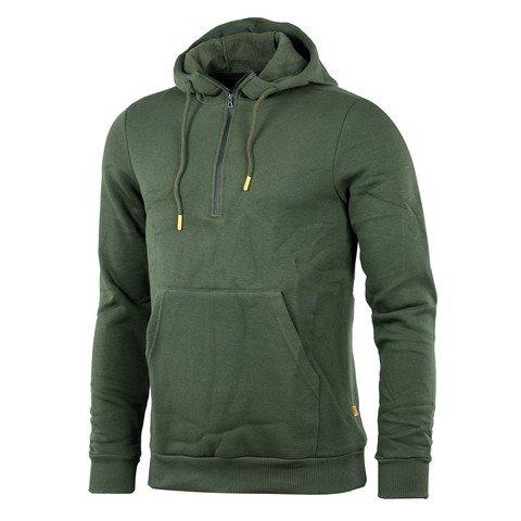 Exuma Half Zip Kapüşonlu Erkek Sweatshirt