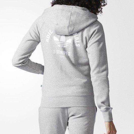 adidas Originals Full Zip Hoodie Kapüşonlu Kadın Ceket