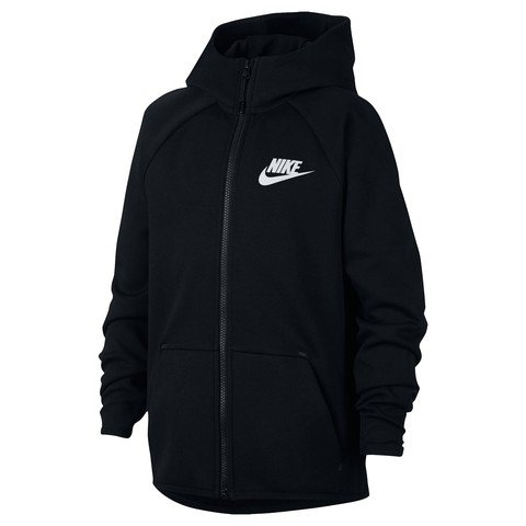 Nike Sportswear Tech Fleece Older B Full-Zip Essentials Hoodie Kapüşonlu Çocuk Ceket