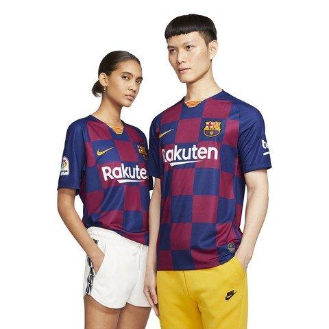 Nike FC Barcelona 2019-2020 Stadium Home Soccer Jersey İç Saha Erkek Forma