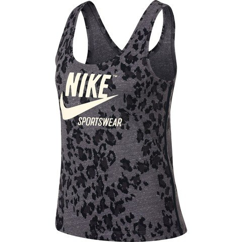 Nike Sportswear GYM Vintage Leopard Kadın Atlet