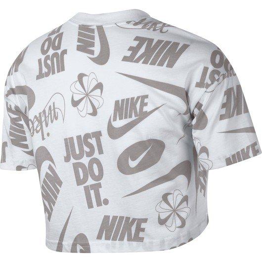 Nike Sportswear Essential Cropped Wild SS19 Kadın Tişört