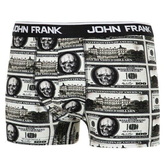 John Frank Dijital Baskılı Multicolor Erkek Boxer