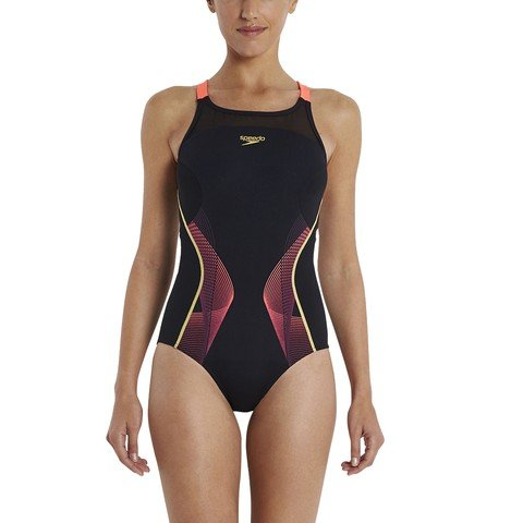 Speedo Fit Pinnacle Crossback Kadın Mayo