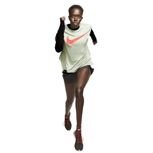 Nike Dri-Fit Graphic Running Short-Sleeve Top Rebel GX Kadın Tişört