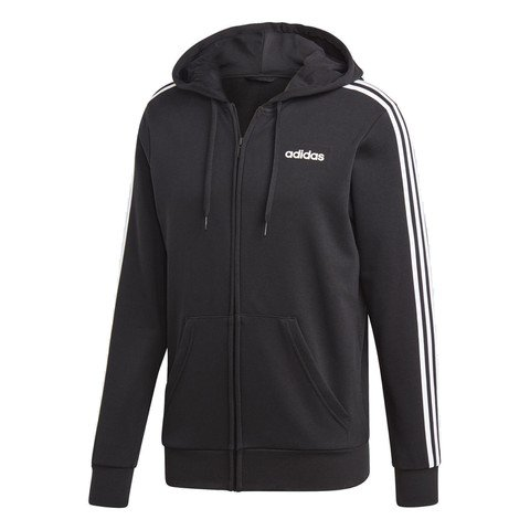adidas Essentials 3-Stripes Hooded Track Top Erkek Ceket