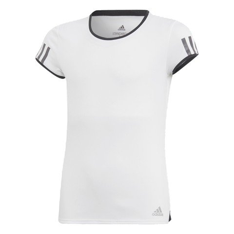 adidas Club 3-Stripes (Girls') Çocuk Tişört