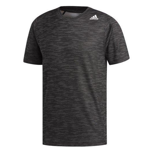 adidas FreeLift Tech Fitted Striped Heathered Erkek Tişört