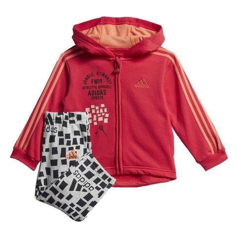 adidas Buzo I Full-Zip Hoodie Kapüşonlu Bebek Eşofman Takımı