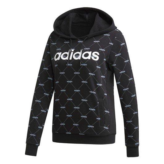 adidas Linear Graphic Hoodie Kapüşonlu Kadın Sweatshirt