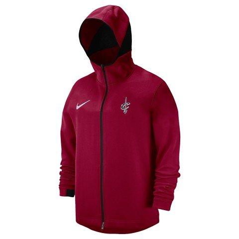 Nike NBA Cleveland Cavaliers Dry Showtime Fz Hoodie Team FW18 Kapüşonlu Erkek Ceket