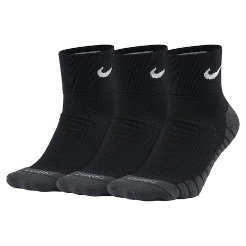 Nike Dry Cushion Quarter 3'lü Erkek Çorap
