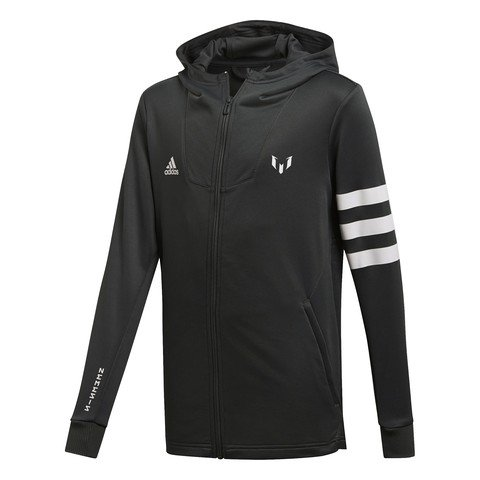 adidas Messi Full Zip Hoodie YB Kapüşonlu Çocuk Ceket