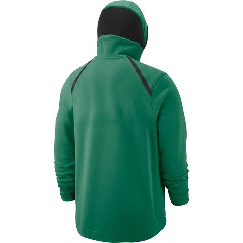 Nike Dri-Fit Boston Celtics Showtime Full Zip Hoodie FW18 Kapüşonlu Erkek Sweatshirt
