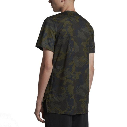 Nike Breathe Dri-Fit Elite Camouflage Short Sleeve Fw18 Erkek Tişört