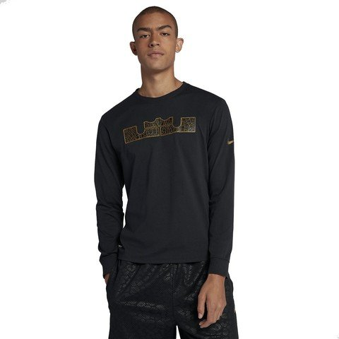 Nike Dri-Fit LeBron Long-Sleeve Uzun Kollu Erkek Tişört