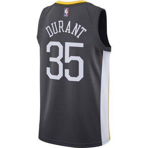 Nike NBA Golden State Warriors Kevin Durant Statement Edition Swingman Jersey FW18 Erkek Forma