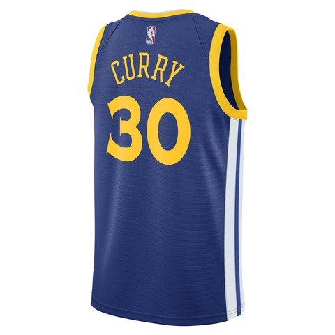 Nike NBA Stephen Curry Golden State Warriors Icon Edition Swingman Jersey FW18 Erkek Forma