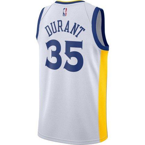 Nike NBA Kevin Durant Golden State Warriors Association Edition Swingman Jersey FW18 Erkek Forma