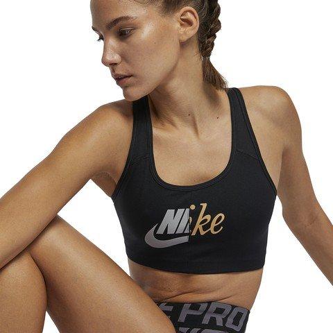 Nike Swoosh Metallic Futura Kadın Büstiyer