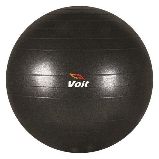 Voit Gymball 75 cm Siyah Pompalı Pilates Topu