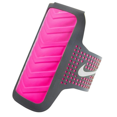 Nike Women's Distance Arm Band Samsung Anthracite/Pink Pow