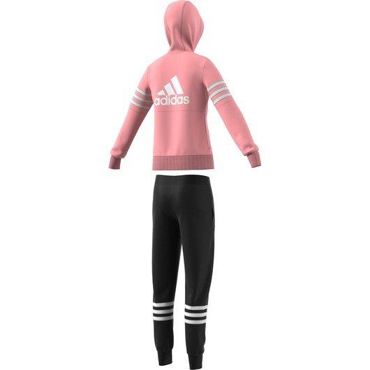 adidas Yg Pes Track Suit Hood Kapüşonlu Çocuk Eşofman Takım