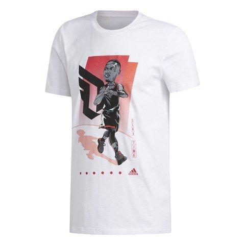 adidas Damian Lillard Geek Up Erkek Tişört