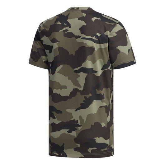 adidas Fast and Confident Allover Camouflage Erkek Tişört