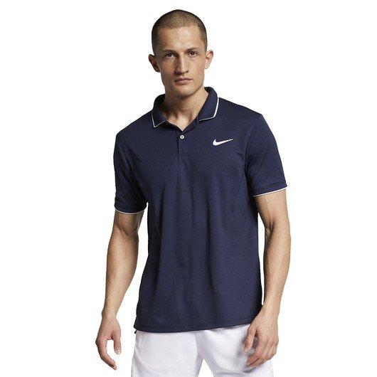 Nike Court Dri-Fit Team Tennis Polo Erkek Tişört