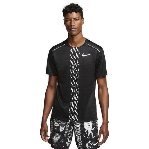 Nike Dri-Fit Miler Short-Sleeve Edge GX PO Erkek Tişört