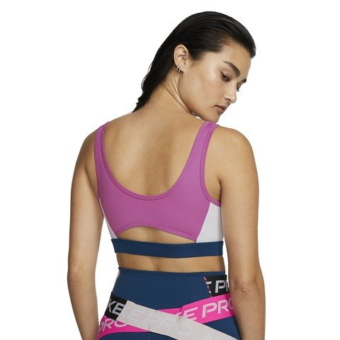 Nike Swoosh Icon Clash Medium-Support Sports Kadın Büstiyer