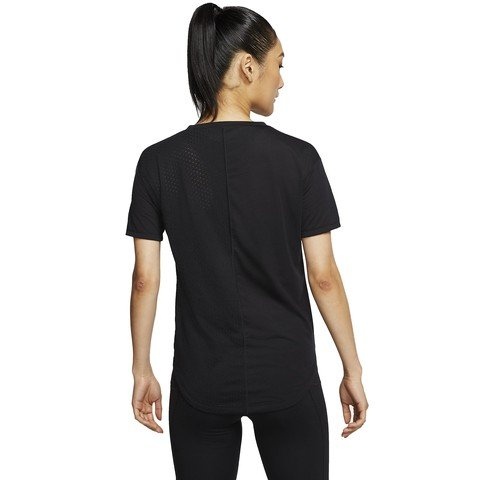 Nike Icon Clash Short-Sleeve Running Top Kadın Tişört