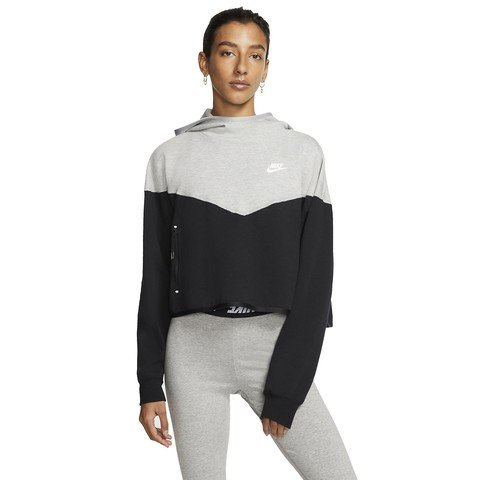 Nike Sportswear Tech Fleece Pullover Hoodie Kapüşonlu Kadın Sweatshirt