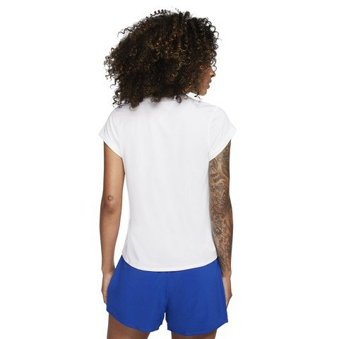 Nike Court Dri-Fit Short-Sleeve Tennis Top Kadın Tişört