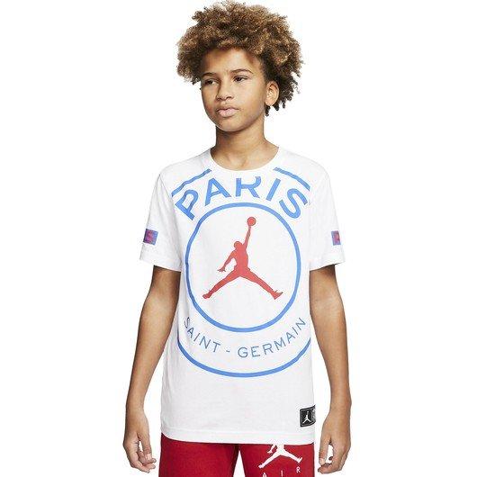 Nike Jordan Paris Saint-Germain Logo Short-Sleeve Çocuk Tişört